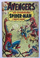 Avengers #11 - Amazing Spider-Man Captain America Thor Marvel Comics (Q)