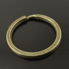 38412 Antique Style Bronze Tone Alloy Key Ring Clasp Jewelry Finding 30pcs