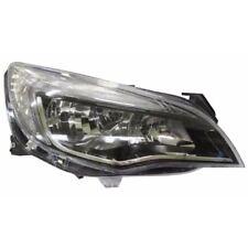 Vauxhall Astra J Mk6 Hatchback 2012-6/2016 Black Headlight Lamp Drivers Side O/S