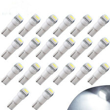 20x T5 58 70 74 1SMD White LED Bulb Dashboard Gauge Wedge Instrument Panel Light