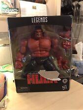 New listing Marvel Legends Exclusive Red Hulk Figure Mib L@K