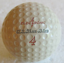 UNUSED U.S. TRUE BLUE ELECTRONIC DIMPLE GOLF BALL WITH CADWELL-GEER COVER