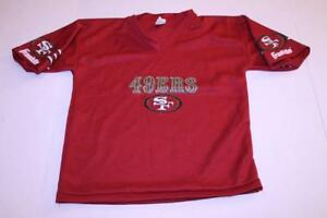 Youth San Francisco 49ers M Jersey (Red) Franklin Jersey