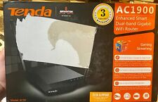 Tenda AC18 Wireless-AC1900 Dual Band Gigabit Router (AC18), Black,