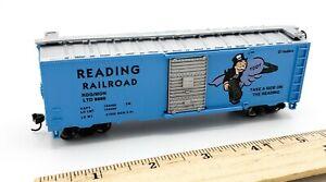 Bachmann HO Scale Train Monopoly READING RAILROAD LTD 9899 Box Car W/ Slide Door