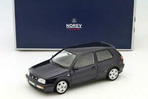 1/18 VW VOLKSWAGEN GOLF VR6 1996 PURPLE METALLIC LILAS NOREV 188417