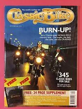 CLASSIC BIKE - September 2001 - Includes BADGE - 1965 250 Greeves Essex MkII