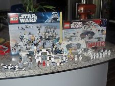 LEGO STAR WARS HOTH ECHO BASE SETS #7879 #7666 W/ BOXES AND INSTRUCTIONS