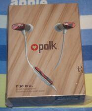 BRAND NEW Polk Audio Nue Era In-Ear Headphone w/ In-Line Mic & Controls Tortoise
