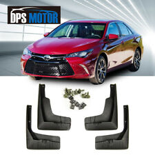 OE Front Rear 4PCS Set Fender Splash Mud Guards Flaps For 15-17 USA Toyota Camry
