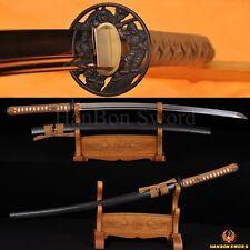 "Real Handmade Katana Samurai Japanese Sword 1095 Carbon Steel Full Tang Blade41"""