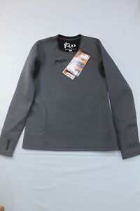 Kutting Weight Sauna Suit Weight Loss Neoprene L/S  Workout Shirt XL top only