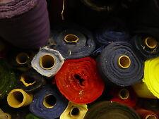 10mts Twill Fabric 150cms Wide, COLORANTE difetti, secondi per fogli di polvere, tappezzeria