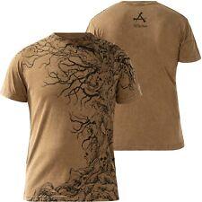 AFFLICTION T-Shirt Tree Of Souls Braun T-Shirts