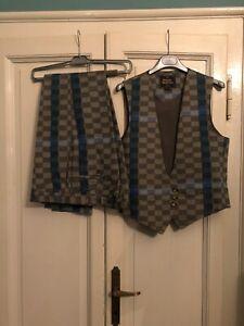 New Vivienne Westwood Man Suit Check IT46