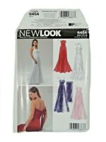 NEW LOOK 6454 Misses Dress Sewing Pattern Size 8-18 OOP UNCUT Special Occasion
