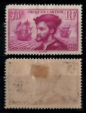 Jacques CARTIER Rose, Neuf * = Cote 30 € / Lot Timbre France 296