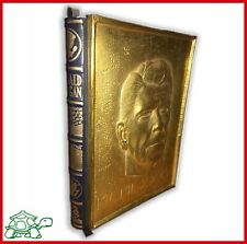 Rare collectible book biography RONALD REAGAN first limited edition bas-relief