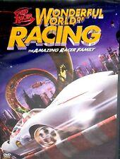 SPEED RACER WONDERFUL WORLD RACING DVD,FREE SHIP JOHN GOODMAN,SUSAN SARANDON,NEW