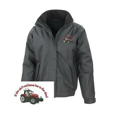 Massey Ferguson Tractor Regatta Fleece Lined Waterproof Jacket Embroidered Logo