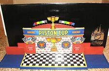 PIXAR ART OF DISNEY CARS PLAYSCAPE PISTON CUP& CERTIFICATE+7 PISTON CUP CARS