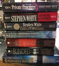 Lot Of 7 Stephen White Books
