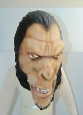 2001 Rare PLANET OF THE APES Rubber Latex GORILLA SOLDIER MASK