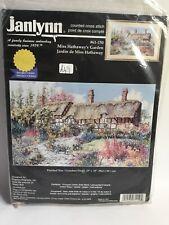 Janlynn Cross Stitch Kit, Miss Hathaway's Garden