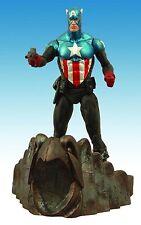 Diamond Marvel Select Toys CAPTAIN AMERICA MASKED Action Figure 17 Cm New
