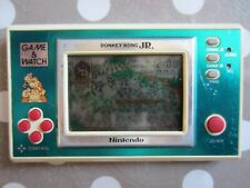 Nintendo Game and Watch Donkey Kong Jr Vintage 1982 LCD new wide screen