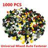 1000Pcs Plastic Rivets Fastener Clips For Car Body Door Trim Panel Fender Bumper