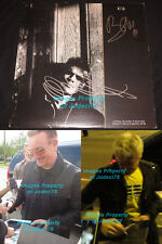Bono & Adam Clayton Signed Still Haven't Found Vinyl Exact Proof JSA COA Josha