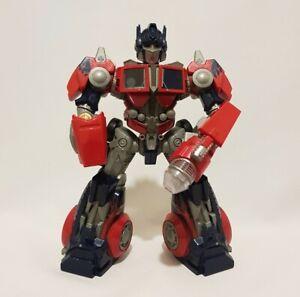 "Hasbro 2006 Transformers Cyber Stompin' Optimus Prime 11"" Action Figure"