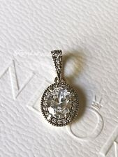 Authentic Sterling Silver Pandora Vintage Elegance Cz Pendant With Gift Box