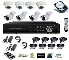 Kit vidéosurveillance numérique DVR IP 16 canaux + DD 1To + 8 caméra HD 700tvl