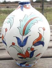 Vase ceramique Boulogne Décor Iznik Henri Delcourt