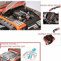 LS3 V8 6.2LEngine Sensor Heatsink Coolingfan Filter for Trx4 Scx10 Scx10II Motor