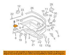 MERCEDES OEM CLK350 Convertible/soft Top-Hinge Cover Cap Left 20975705069999