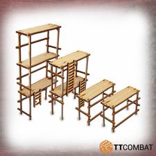 TTCombat BNIB Wood Scaffolding TTSCW-SOV-092