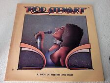 VINYL LP...ROD STEWART -A SHOT OF RHYTHM AND BLUES, GATED-c 1976 PRIVATE STOCK-r