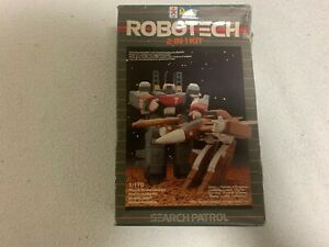 REVELL Robotech Search Patrol 1/170 Scale Model Kit/1984/ Japan and Recon team