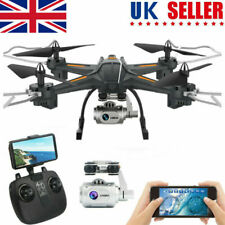 FPV Drone With 1080P HD Adjustable Camera WIFI RC Quadcopter Fly Cam Wide-Angle
