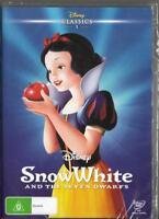 SNOW WHITE - DISNEY - NEW & SEALED REGION 4 DVD FREE LOCAL POST