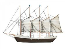Wanddeko Wandobjekt Schiff 84 cm x 54 cm Boot maritim Wohnaccessoires massivum