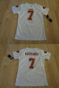 Youth Boys San Francisco 49ers Colin Kapernick Sz 6 S(6) NWT NFL Team Apparel (W