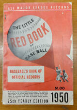 Major League Little Red Book of Baseball 25th Yearly Edition 1950 (J56075)