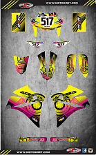 Full Custom Graphic  Kit - NEON STYLE - YAMAHA XT 660 R Sticker kit / decals