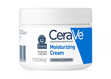 CeraVe Moisturizing Cream for Normal to Dry Skin, Fragrance Free - 12oz