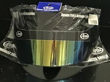 Arai GP6 / SK6 Gold Iridium Dark Smoke Visor Brand New & Genuine