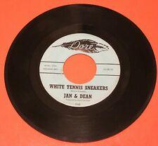 "JAN & DEAN ""White Tennis Sneakers"" / ""Cindy"" 1960 High Grade DOOWOP ROCKER Dore"